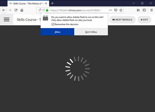 Enable Flash Plugin - Firefox